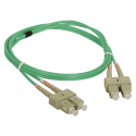 Patch cord MM OM3 SC-SC duplex 50/125 1.0m ALANTEC