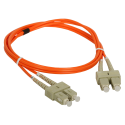 Patch cord MM OM2 SC-SC duplex 50/125 1.0m ALANTEC
